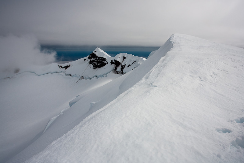 Summit Ridge of Beerenberg, Jan Mayen.
