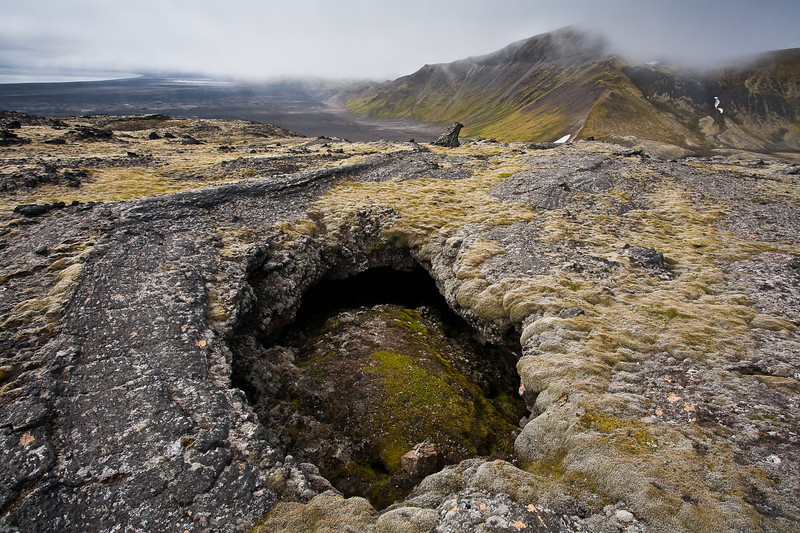 Lava formations, jan Mayen