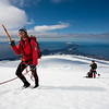 Jo has his sights set on the summit, Jan Mayen