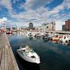 The harbor of Bodo, Norway