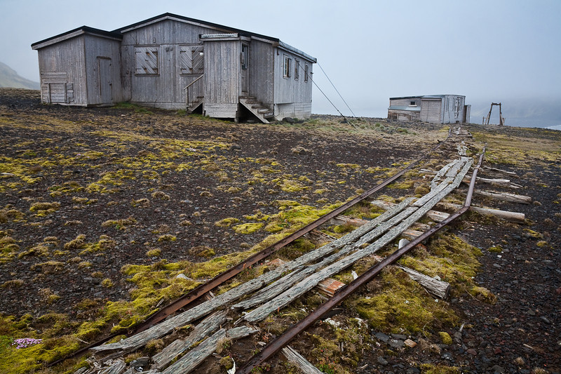 """Gamlemetten"" the old Norweigian research station. Jan Mayen"