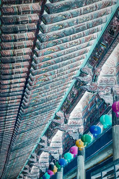 Bulguksa Temple, South Korea. Abstract