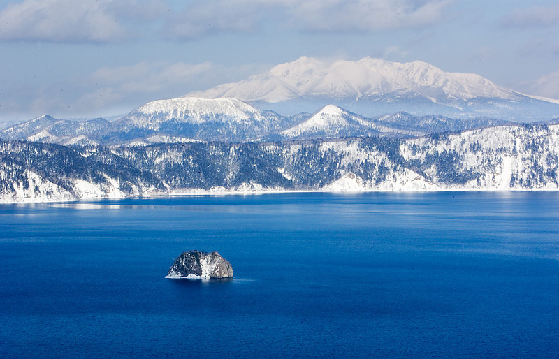 Lake Mashu. John Chapman.