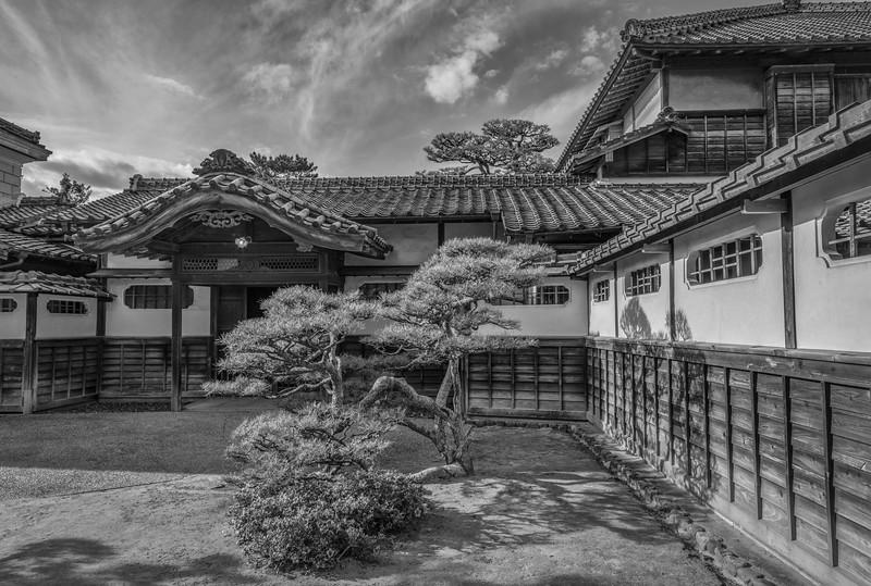Takatori residence, Karatsu, Japan
