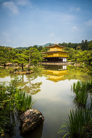 Golden temple, Kyoto, Japan