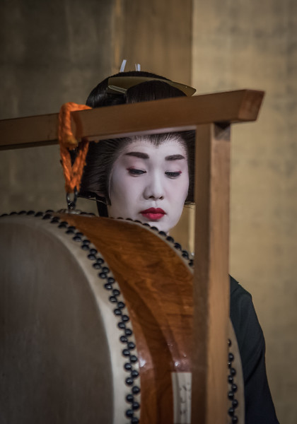 Geiko-san (Geisha); Kanazawa, Japan