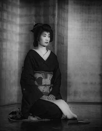Geiko-san (Geisha), Kanasawa, Japan
