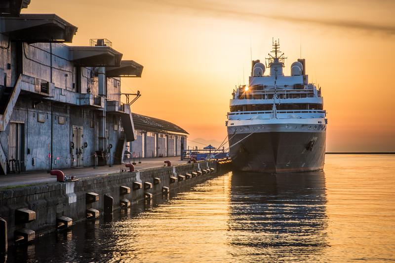 Pier,  Otaru, Japan