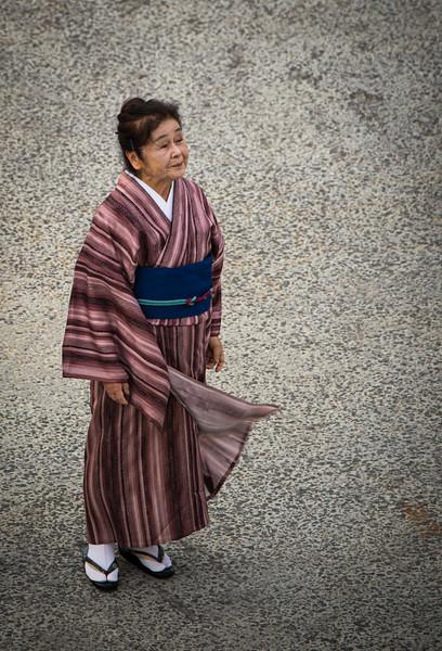 Kimono Farewell, Karatsu, Japan