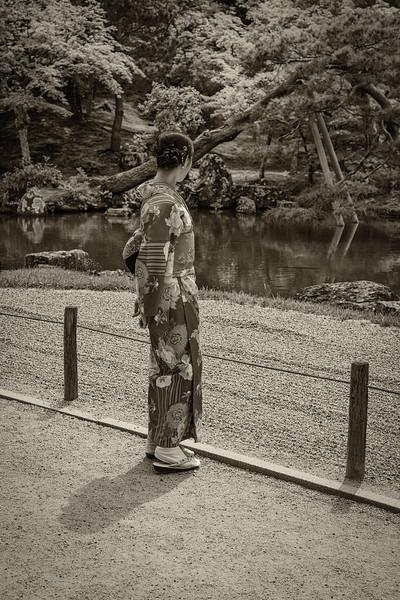 Tenryu-ji Temple Gardens, Kyoto, Japan