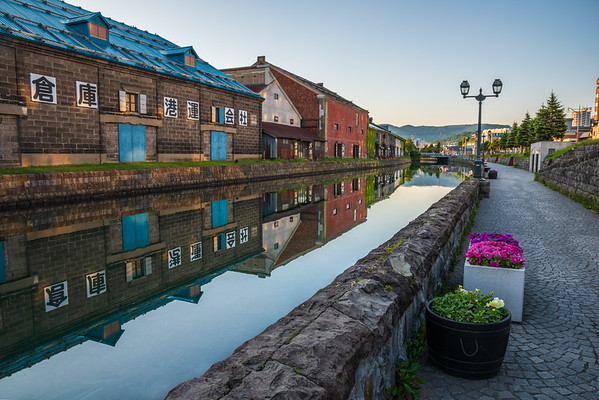 Canal, Otaru, Japan