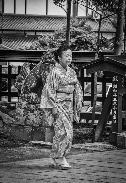 Kimono, Karatsu, Japan