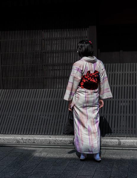 Kimono, Kyoto, Japan