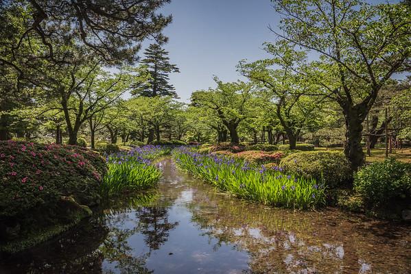 Kenrouken Garden, Kanazawa, Japan