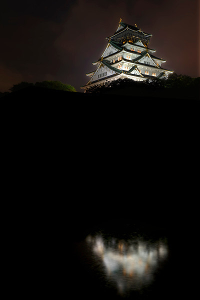 Summer Storm at Osaka Castle