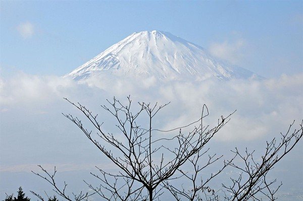 I love how Mount Fuji is an exceptionally symmetrical cone