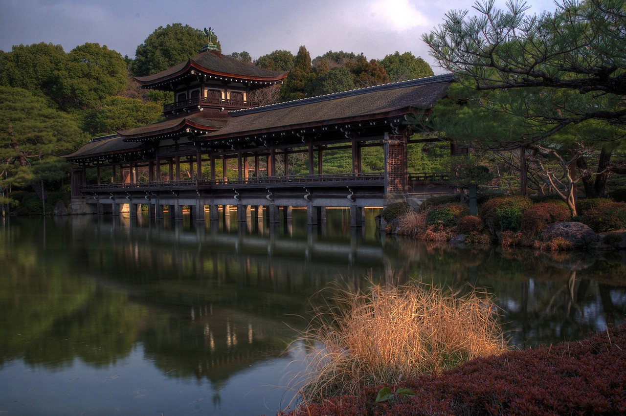 Kyoto Heian Jingu Shrine and Garden