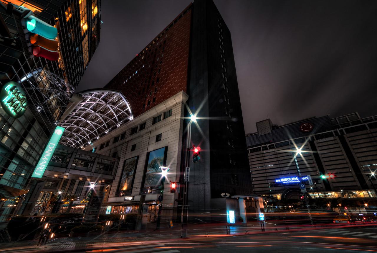 Tenjin at Night