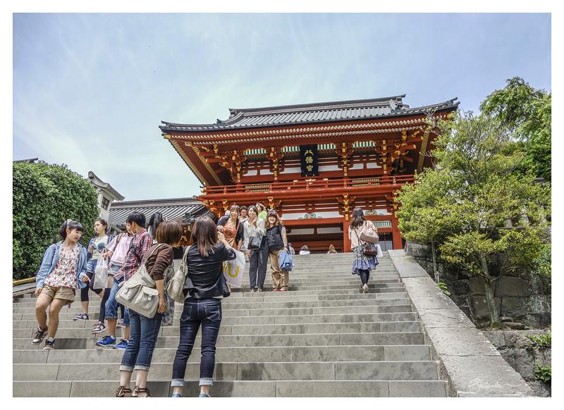 Tsurugaoia Hachimangu Temple, Kamakura Japan
