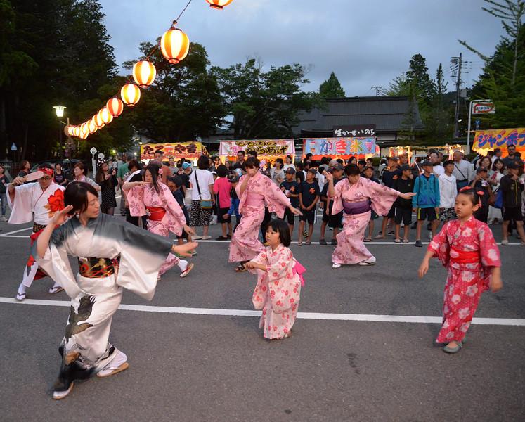 Fête populaire à Koyasan