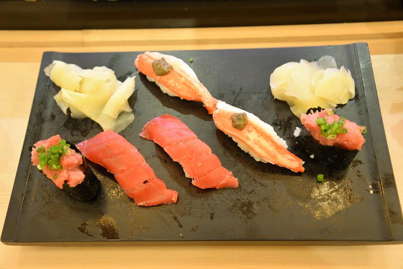 délicieux sushis, Osaka