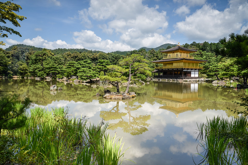 Le temple d'or, Kyoto