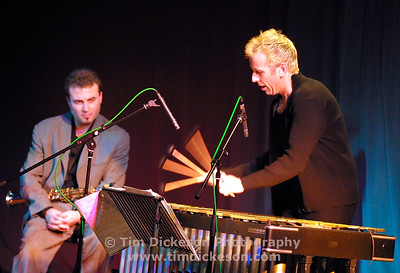 Pic Tim Dickeson  Tim Garland Trio St Davids Hall 26/02/02  Tim Garland - Saxes Joe Locke - Vibes Geoff Keezer - Piano