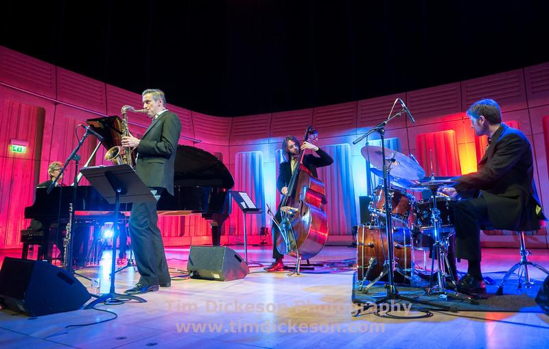 The Darius Brubeck Quartet - Darius Brubeck (Piano), Dave O'Higgins (Sax) Matt Ridley (Bass), Wesley Gibbens (Drums)
