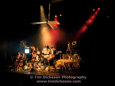 Pic Tim Dickeson 01-11-2016 L'ORCHESTRE D'HOMMES-ORCHESTRES PERFORMS TOM WAITS