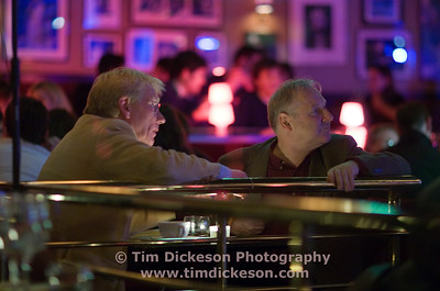 Nod Knowles & Tony Dudley Evans at Ronnie Scotts