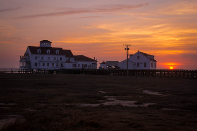 Sunset at Coast Guard Station 119 - Tuckerton, New Jersey