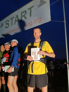 And to prove that not all the really extreme running is done by women, here is Max Newton at the start line of the 56 mile London to Brighton ultramarathon in Sep. 2011. He raised over £1,500 to support the fantastic, life-saving work of the British Red Cross.