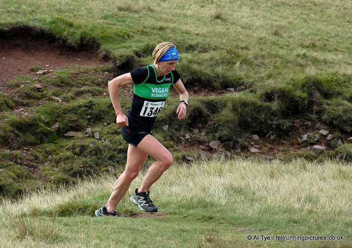 This time Helen won Snowdonia's Llyn y Fan race overall, in 2010.