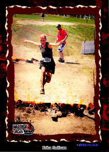 Others prefer fire. Here vegan veterinarian Erika Sullivan tackles Ontario's infamous Warrior Dash in 2011.