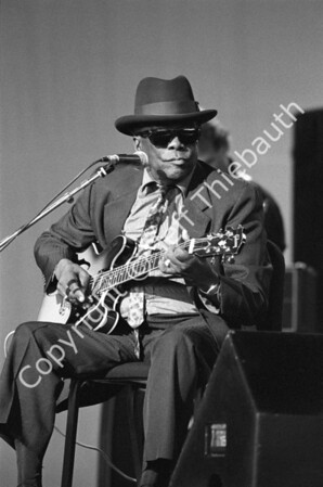 04-John Lee Hooker-Great Woods-6-24-90