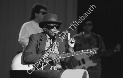 07-John Lee Hooker-Great Woods-6-24-90