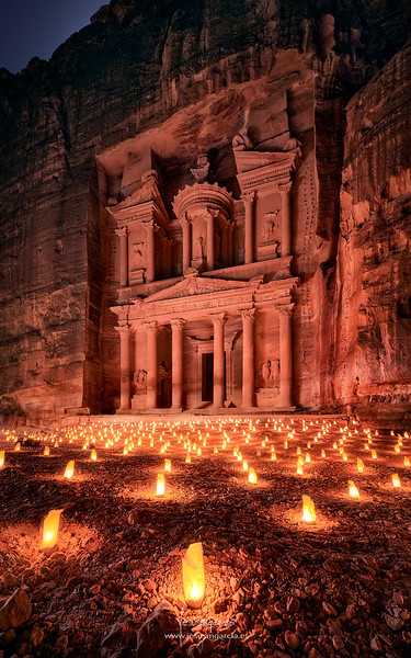 Petra by Night 02 - Jordan