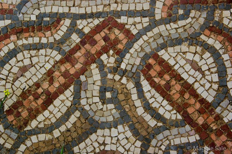 Roman mosaics at Jerash