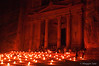 Petra - The Treasury at night by candlelight