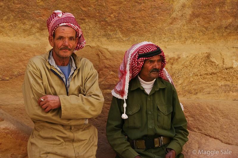 Petra - Bedouin in The Siq