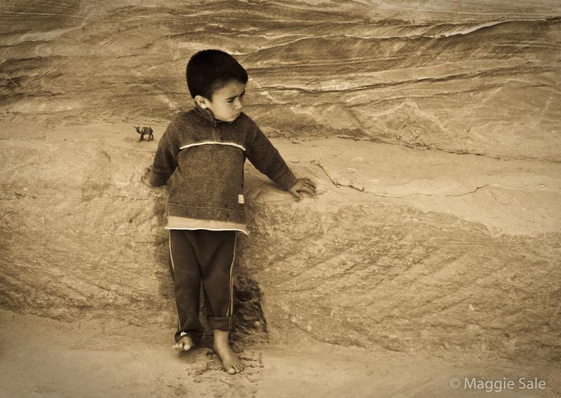 Petra - bedouin boy