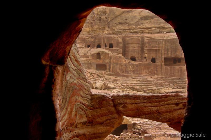 Petra - tomb entrance