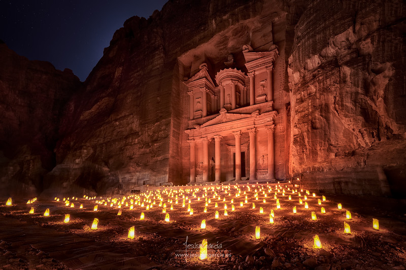 Petra by Night 01 - Jordan