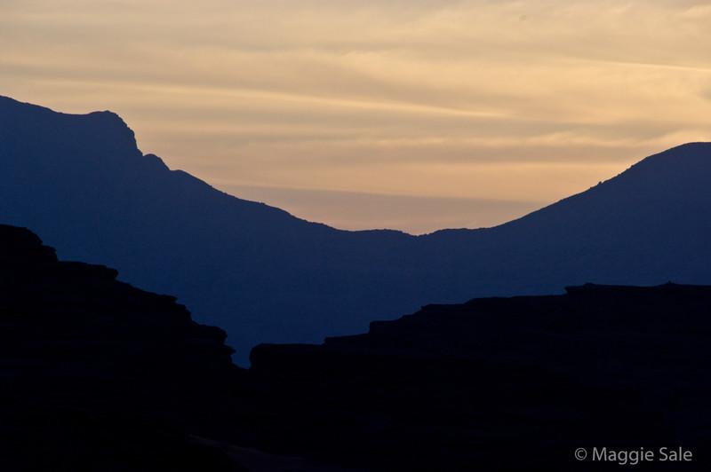 Wadi Rum - dawn