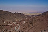 Desert road near Dana Nature Reserve
