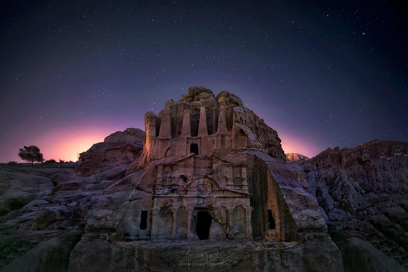 Obelisk Tomb - Petra - Jordan