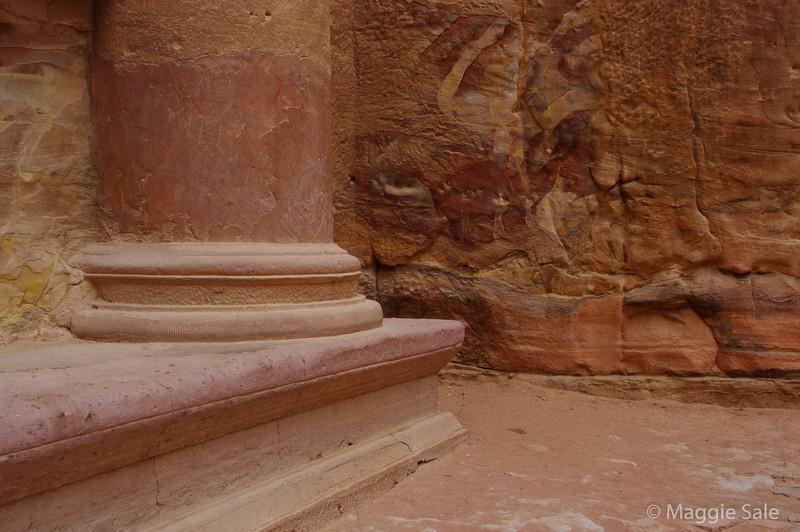 Petra - Base of The Treasury