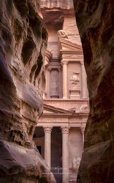 Treasury in Petra - Jordan