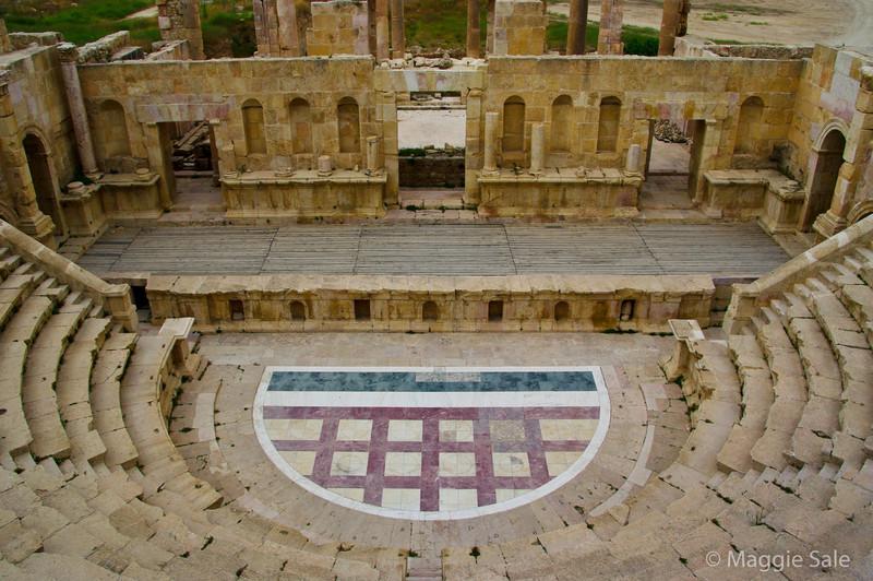 Jerash Roman City - amphitheatre