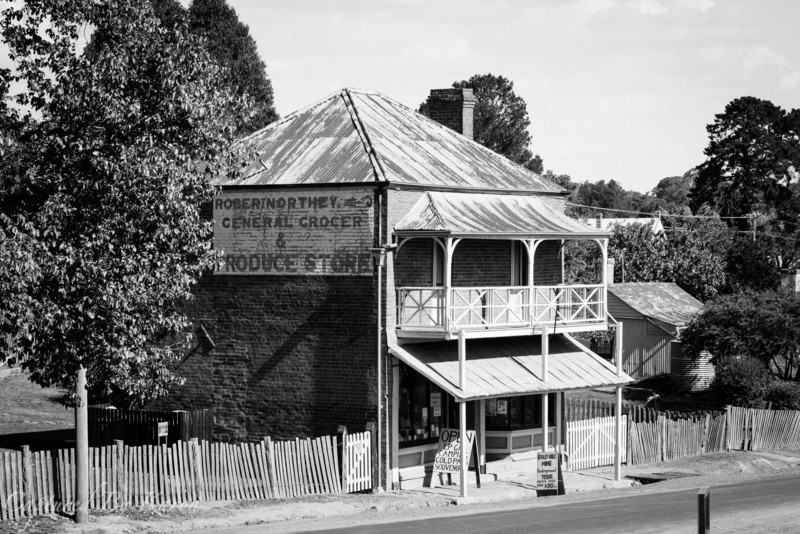 Northey's Store, Clarke Street, Hill End NSW